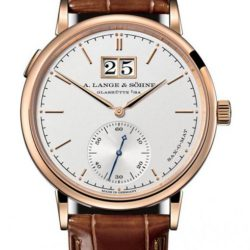 Ремонт часов A.Lange and Sohne 308.047 Saxonia Automatic Outsize Date в мастерской на Неглинной