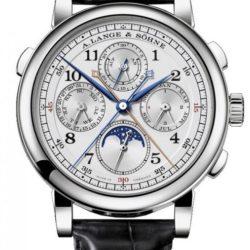 Ремонт часов A.Lange and Sohne 421.025 1815 Rattrapante Perpetual Calendar в мастерской на Неглинной