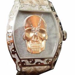 Ремонт часов Antoine Preziuso Skull The Unique and Artistic Pink Gold в мастерской на Неглинной