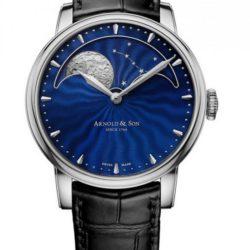 """Ремонт часов Arnold & Son 1GLAS.U02A.C122S Royal Collection HM Perpetual Moon """"Midnight Blue"""" в мастерской на Неглинной"""