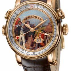 """Ремонт часов Arnold & Son 1H6AP.D05A.C60B Royal Collection Hornet James Cook Set """"Botany Bay"""" в мастерской на Неглинной"""