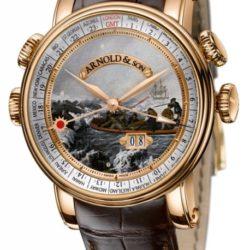 """Ремонт часов Arnold & Son 1H6AP.D06A.C60B Royal Collection Hornet James Cook Set """"Antarctica"""" в мастерской на Неглинной"""