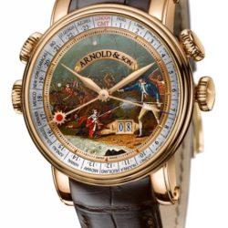 """Ремонт часов Arnold & Son 1H6AP.D07A.C60B Royal Collection Hornet James Cook Set """"Hawaii"""" в мастерской на Неглинной"""