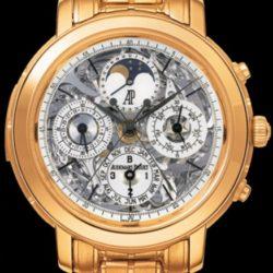 Ремонт часов Audemars Piguet 26023OR.OO.1138OR.01 Jules Audemars Grande Complication в мастерской на Неглинной