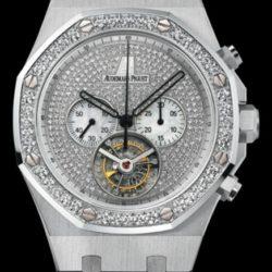 Ремонт часов Audemars Piguet 26039BC.ZZ.1205BC.01 Royal Oak Tourbillon Chronograph Jeweled в мастерской на Неглинной