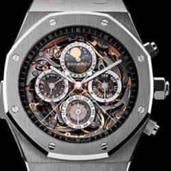Ремонт часов Audemars Piguet 26065IS.OO.1105IS.01 Royal Oak Grande Complication в мастерской на Неглинной