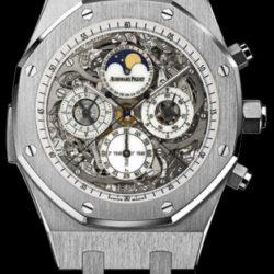 Ремонт часов Audemars Piguet 26065IS.OO.D002CR.01 Royal Oak Grande Complication в мастерской на Неглинной