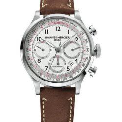 Ремонт часов Baume & Mercier 10000 Capeland Chronograph в мастерской на Неглинной