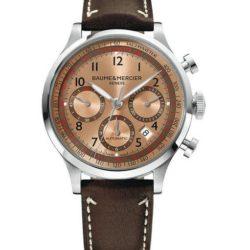 Ремонт часов Baume & Mercier 10004 Capeland Chronograph в мастерской на Неглинной