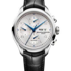 Ремонт часов Baume & Mercier 10123 Clifton Chronograph в мастерской на Неглинной
