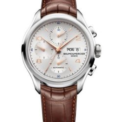 Ремонт часов Baume & Mercier 10129 Clifton Chronograph в мастерской на Неглинной