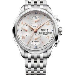 Ремонт часов Baume & Mercier 10130 Clifton Chronograph в мастерской на Неглинной
