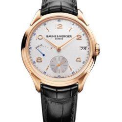 Ремонт часов Baume & Mercier 10195 Clifton 8-Day Power Reserve 185th Anniversary Edition в мастерской на Неглинной