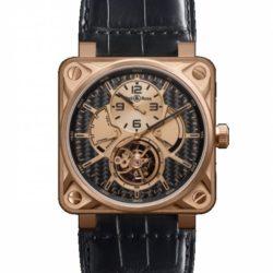 Ремонт часов Bell & Ross BR 01 Tourbillon Pink Gold Aviation 46 mm в мастерской на Неглинной