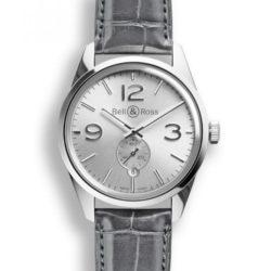 Ремонт часов Bell & Ross BR 123 Officer Silver Vintage 41 mm в мастерской на Неглинной