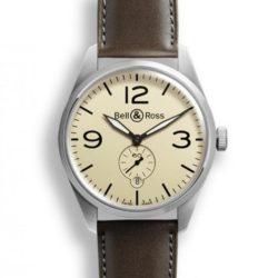 Ремонт часов Bell & Ross BR 123 Original Beige Vintage 41 mm в мастерской на Неглинной