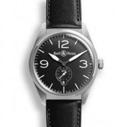 Ремонт часов Bell & Ross BR 123 Original Black Vintage 41 mm в мастерской на Неглинной