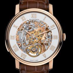 Ремонт часов Blancpain 00235-3631-55B Le Brassus CARROUSEL RÉPÉTITION MINUTES в мастерской на Неглинной