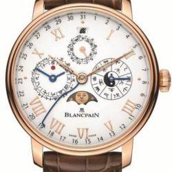 Ремонт часов Blancpain 00888-3631-55B Villeret Calendrier Chinois Traditionnel в мастерской на Неглинной