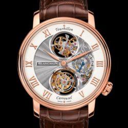 Ремонт часов Blancpain 2322-3631-55B Le Brassus Blancpain Le Brassus Tourbillon Carrousel в мастерской на Неглинной