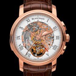 Ремонт часов Blancpain 2358-3631-55B Le Brassus Blancpain Le Brassus Carrousel Repetition Minutes Chronographe Flyback в мастерской на Неглинной