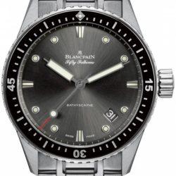 Ремонт часов Blancpain 5000-1110-70B Fifty Fathoms Bathyscaphe в мастерской на Неглинной