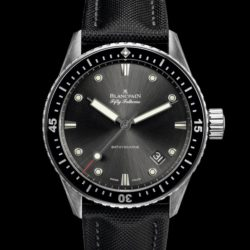 Ремонт часов Blancpain 5000-1110-B52A Fifty Fathoms 'Fifty Fathoms' Bathyscaphe в мастерской на Неглинной