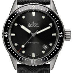 Ремонт часов Blancpain 5000-1230-B52A Fifty Fathoms Bathyscaphe в мастерской на Неглинной