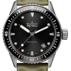 Ремонт часов Blancpain 5000-1230-K52A Fifty Fathoms Bathyscaphe в мастерской на Неглинной