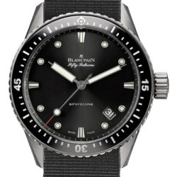 Ремонт часов Blancpain 5000-1230-NABA Fifty Fathoms Bathyscaphe в мастерской на Неглинной