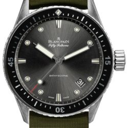 Ремонт часов Blancpain 5000-1230-NAKA Fifty Fathoms Bathyscaphe в мастерской на Неглинной