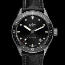 Ремонт часов Blancpain 5000-12C30-B52A Fifty Fathoms 'Fifty Fathoms' Bathyscaphe в мастерской на Неглинной