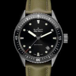 Ремонт часов Blancpain 5000-12C30-K52A Fifty Fathoms 'Fifty Fathoms' Bathyscaphe в мастерской на Неглинной