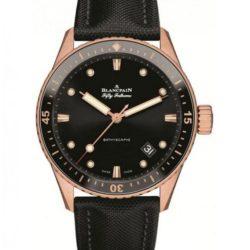 Ремонт часов Blancpain 5000-36S30-B52A Fifty Fathoms Bathyscaphe Sednagold в мастерской на Неглинной