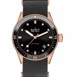 Ремонт часов Blancpain 5000-36S30-NAB A Villeret Bathyscaphe в мастерской на Неглинной