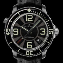 Ремонт часов Blancpain 50015-12B30-52B Fifty Fathoms '500 Fathoms' в мастерской на Неглинной