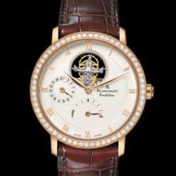 Ремонт часов Blancpain 6025-2942-55B Villeret Tourbillon 8 Jours в мастерской на Неглинной