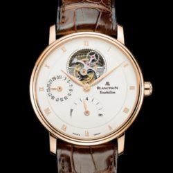 Ремонт часов Blancpain 6025-3642-55B Villeret Tourbillon 8 Jours в мастерской на Неглинной