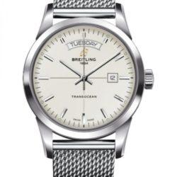 Ремонт часов Breitling A 4531012/G751/154A Transocean DAY & DATE в мастерской на Неглинной