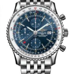 Ремонт часов Breitling A2432212/C651/443A Navitimer WORLD в мастерской на Неглинной