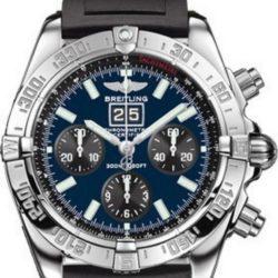 Ремонт часов Breitling A4459C0 SS-Blue&Black-Rubber Chronomat Blackbird в мастерской на Неглинной