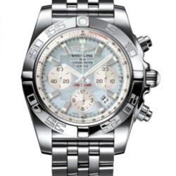 Ремонт часов Breitling AB011012/G685/375A Chronomat 44 в мастерской на Неглинной