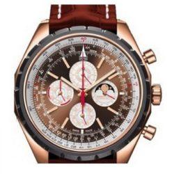 Ремонт часов Breitling RG-Brown&White-BrCroco Chrono-Matic QP в мастерской на Неглинной