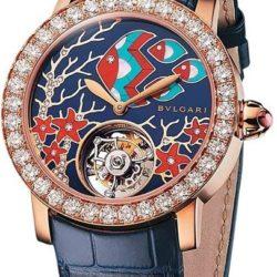 Ремонт часов Bvlgari 102134 BBLP37FDGDLTB Mediterranean Eden Giardino Marino в мастерской на Неглинной