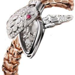 Ремонт часов Bvlgari 102239 Sarpenti High Jewellery в мастерской на Неглинной