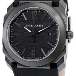 Ремонт часов Bvlgari 102249 Gefica Gerald Genta Octo Solotempo All Blacks в мастерской на Неглинной