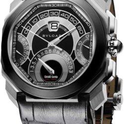 Ремонт часов Bvlgari BGO45BSCLDCHQR Gefica Gerald Genta Octo Quadro Retro в мастерской на Неглинной