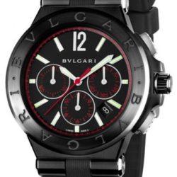 Ремонт часов Bvlgari Bulgari Diagono Ultranero Chronograph Red Diagono 42 mm в мастерской на Неглинной