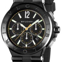 Ремонт часов Bvlgari Bulgari Diagono Ultranero Chronograph Yellow Diagono 42 в мастерской на Неглинной