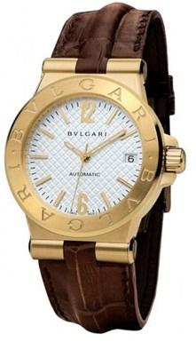 Ремонт часов Bvlgari DG35C6GLD Diagono Automatic 35 mm в мастерской на Неглинной
